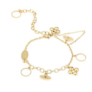2020 new Home titanium steel bracelet female European and American popular brand bracelet student trend temperament Ins bracelet