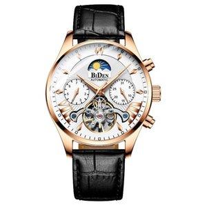 Byron Mens High-End Multi-função impermeável relógio mecânico Mens Foreign Trade Watch