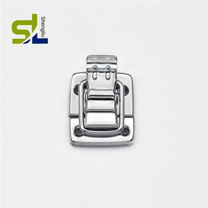 G small lock cosmetic violin aluminum packing Accessory leather case hardware accessories leather case buckle high quality