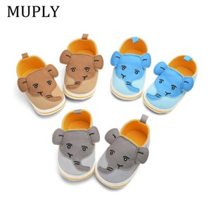 Cartoon Animal Baby Shoes Baby Boys For Newborn Infant Toddler Anti-Slip First Walker Cute Prewalkers Hot Sale