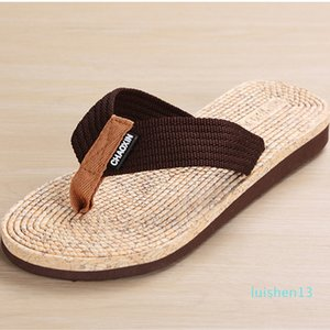 2020 Summer Men Flip Flop Shoes High Quality Beach Holiday Sandals Non-Slide Male Slippers Men Flats Casual Shoes Free Delivery l13