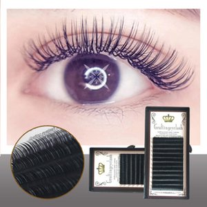 YioWio Natural Longo Maquillaje Artificial Lashes Fluffy Grosso Silk Bundle cílios individual Kit de Extensão False Lash