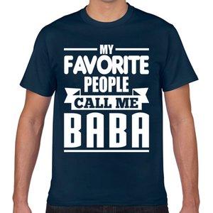 Tops T-Shirt Männer baba Kawaii Beschriftungen Kurz Male T-Shirt