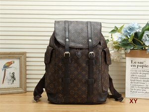 Vintage print backpack designer backpack wallet travel handbags purses crossbody bag shoulder genuine leather new high quality