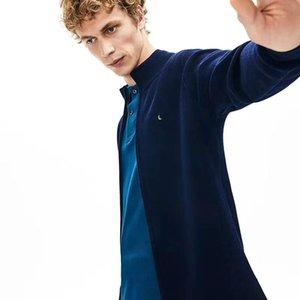 Marka Yeni Stil Erkekler Kazak Ceket Trendy Sıcak Moda Standı Yaka Fermuar Erkek Ceket Örgü Dış Giyim Erkek Kovboy
