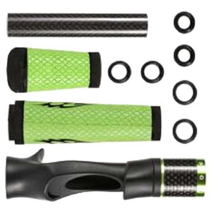 Pesca Rod Handle Reparação Edifício Kit portátil Assento Pesca Reel para Baitcasting Rod Handle Pole
