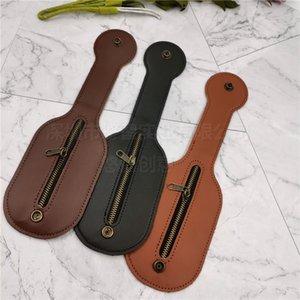 Flip Cover waist hanging change multifunctional defense mini leather outdoor men's wallet wallet bag