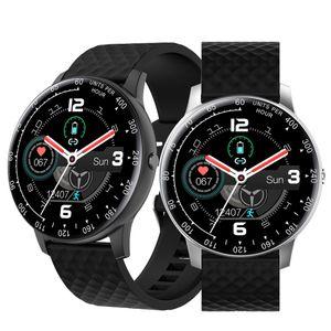 Elegante de la pantalla reloj H30 Deportes SmartWatch táctil completa del ritmo cardíaco Smartwatches banda para Android con la caja al por menor