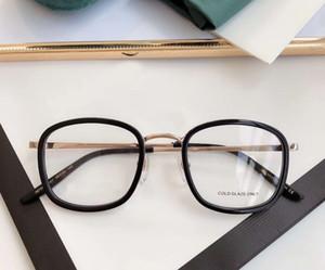 Square Eyeglasses 0678OA Gold Black Oval 49mm gafas de sol Fashion Sunglasses Frames with Box