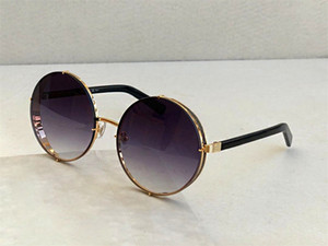 النساء tenperament أزياء النظارات الشمسية النظارات الشمسية المستديرة إطار لون عدسة شعبية أسلوب الصيف الساخن بيع LILOS حماية UV400 النظارات