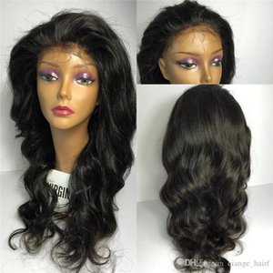 Hot Glueless Body Wave Full Lace Human Hair Wigs for Black Women Lace Front Wigs Unprocessed Brazilian Wavy Full Lace Wig