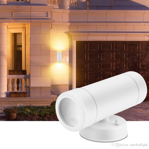 Outdoor LED Lamps Lighting Dual Head Wall Lamp Outdoor Wall Sconce Lights-Modern Waterproof LED Wall Light