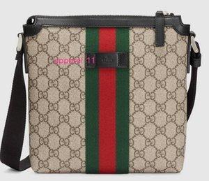 Web Flat Messenger 471454 Men Messenger Bags Shoulder Belt Bag Totes Portfolio Briefcases Duffle Luggage