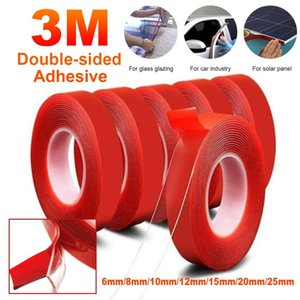 2016 Strong 3M Length Car Sticker Double Foam Faced Adhesive Tape Auto Glue Sticker Multi-functional 3M Nano Tape