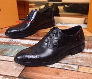High-end quality black dress business shoes Men Dress Shoes BOOTS LOAFERS DRIVERS BUCKLES SNEAKERS SANDALS