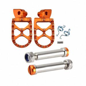 H2CNC Moto Pedane poggiapiedi pedana Pedali Pins Set per 990 1050 1090 1190 Adventure R 990 SUPER MOTO R S T ETC M87f #
