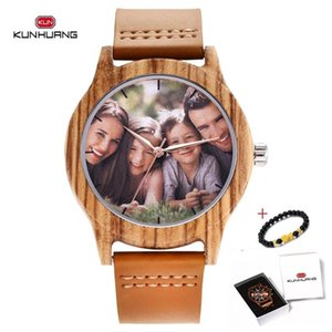 Custom Personalized Photo Faces Wrist Watch Men Waterproof Quartz Fashion Design Watches Dropshipping Male Colok Best Gifts 2020