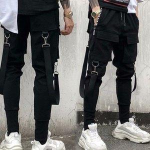 Peso Mens leggera e traspirante pantaloni casual estate sottile Cargo Pants Maschio Work Out rapidamente asciugano pantaloni pantaloni della tuta