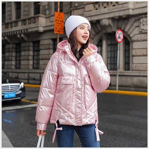 2020 New Fashion glossy Winter Women's Jacket Waterproof Parkas Female Warm Winter Coat Hooded Women Outerwear Casaco G702
