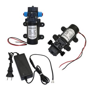 DC 12V 60W Micro Diaphragm Water Pump Self-priming Booster Pump Automatic Switch 5L min for Home garden 1 Pcs