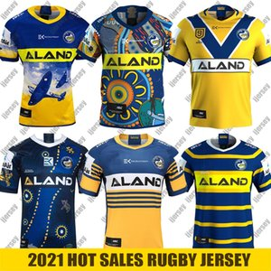 shirt novo Parramatta Eels ANZAC Edição Comemorativa Rugby Jersey Parramatta Eels Indígena Jersey camisola liga Austrália NRL Rugby 2021