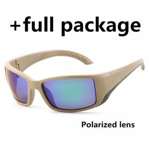 Новые поляризованные солнцезащитные очки бренда пляж очки море Рыбалка Серфинг мужчин и женщин Eyewear фабрика Оптовая с Cases