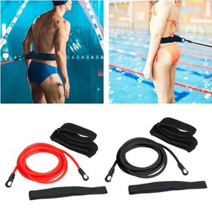 Adjustable Harness Swim Training Resistance Belt Safety Rope Swimming Pool Tool Swimming Exerciser Safety Rope Equipment