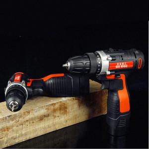 Herramientas 12V 24V taladro inalámbrico 16,8V Taladros eléctricos de batería Destornillador de Rotary para trabajar la madera Parafusadeira taladro MTl9 #