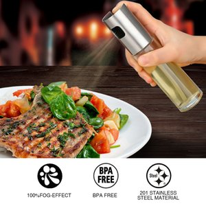 17.5*4cm Salad BBQ Cooking Glass Oil sprayer Kitchen Baking Oil Cook Spray Empty Bottle Vinegar Bottle Oil Dispenser Cooking Tool