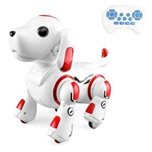 Uzaktan Kumanda 2.4GHz Robot Köpek Köpek Akıllı Akıllı Etkileşimli Singing Dans Programlanabilir Oyuncak Çocuk Doğum Hediye
