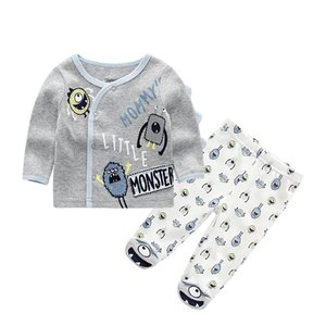 baby boys children clothing set Tshirts+trousers Cotton Coat Newborn Girl Rompers Clothes Infant Toddler Summer Roupa de