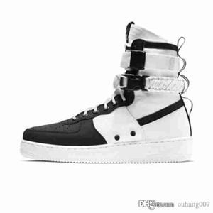 2017 새로운 남성 여성 높은 공기 하나 하나 개 SF 캐주얼 신발 패션 남여 특수 필드를 도시 유틸리티 부츠 스니커즈 스포츠 신발을 강제로