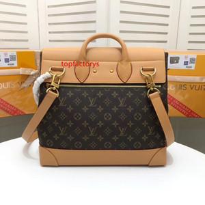 5A L PM V STEAMER Small Handbag Men Crossbody Briefcases Handbags Bag Top Handles Shoulder Bags Totes Cross Body Bag 44473 44997 44731