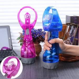 Hand Held dello spruzzo d'acqua Fan portatile Viaggi Handheld spruzzo Raffreddare ventilatore della foschia della bottiglia di Mist Estate Sport Viaggi del dispositivo di raffreddamento Ventilatore dello spruzzo BH2093 TQQ