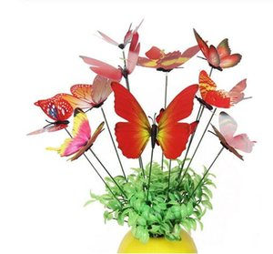 Simulation Butterfly Rod Flowerpot Vase Gardening Bonsai bonsai For Indoor garden Green Plant Decoration GB961