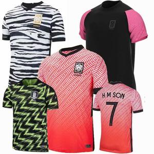20 21 maillots كوريا دي لكرة القدم القدم جيرسي المنتخب الوطني H M SON 2020 الرجال والاطفال 2021 تدريب كرة القدم قميص