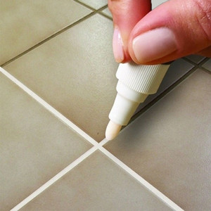 Tile atacado marcador reparo da parede Pen Branco Grout marcador Inodoro Não tóxico para lápis touch-up azulejos e Pneu de carro