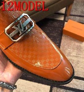 luxurious New Fashion Classic Point Toe Oxfords For Men Moccasins Loafers shoes Mens Business Party Tassels driving shoes size 38-45