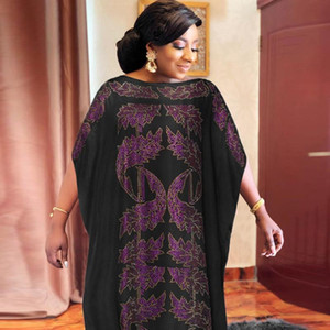 African Maxi Dresses for Women Plus Size Dashiki Sequins African Clothes Abaya Dubai Muslim Dress Africa Boubou Robe with Scarf