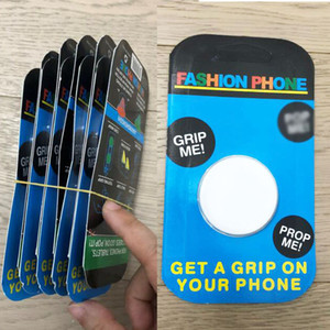 Free DHL Universal phone Holder with Real 3M Stand Grip finger Ring For iPhone Samsung retail package Cell Phone Bracket