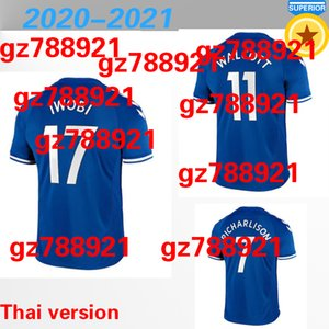20 21 New Everton soccer jerseys 2020 2021 football shirts RICHARLISON DIGNE SIGURDSSON CALVERT LEWIN tops men kids WALCOTT kits uniforms