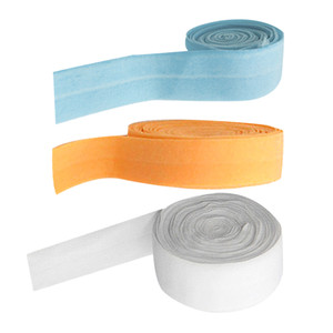 3Roll 10m Elastic Flat Bias Binding Tape Craft Clothing Sewing Braided Rope