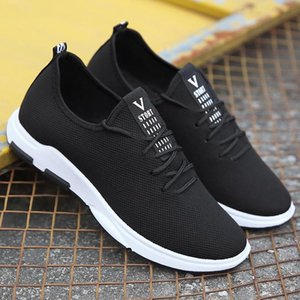 New Style Primavera homens sapatos Sports Shoes Casual estilo coreano Juventude Skate elegante Versátil Correr perfurado Shee