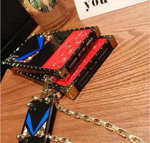 Модельер телефон чехол для Samsung Note 20 Ультра Примечание 10 9 S20 S10 S9 A51 A71 A41 iphone 11 Pro X Xs Max ХГ 8 7 плюс With The Key Chain