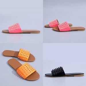 Casual Sandalet Soft On 2020Slippers Leater Slaytlar Şık KİT'ler Yaz Beac Sandalet Kayma # 175 Flop'lar Bayanlar ayakkabı Bayan Dener Slipper çevirin