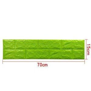 Thickness 3D Brick PE Foam DIY Wall Sticker Self 51TWC79ziWL 77X70CM Sticker Adhesive Wallpaper Panels home2010 TQnJi