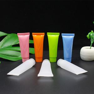 Plastique vide cosmétique souple Tubes Bouteille crème pour les mains tasse Tuyau Démaquillant crème séparée Coupe bouteilles d'extrusion échantillon avec vis 0 65skB2