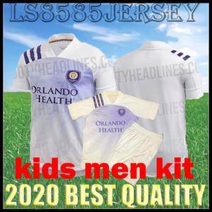 crianças kit 20 21 Orlando City camisa de futebol NANI Akindele DWYER MUELLER Kljestan KAKA COLMAN 2020 2021 camisa de futebol tailândia homens uniforme