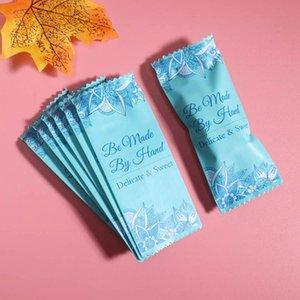 500pcs / lot Torrone Wrapping Bag Romantic Vegetazione mano pacchetto partito caramella di zucchero regalo fai da te confezionamento del latte Taffy Candy Wrapper