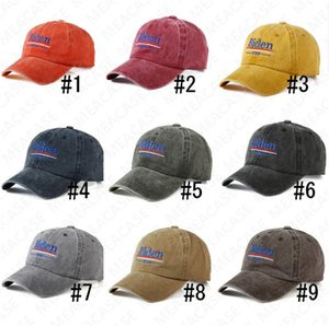 BIDEN 2020 Imprimir cartas Visor Cap EUA Eleição BIDEN Baseball Caps Verão Bordados Chapéu de Sol Sports Praia tampão repicado Boutique D7612